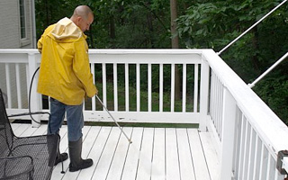Deck Cleaning by McMahon Home Services